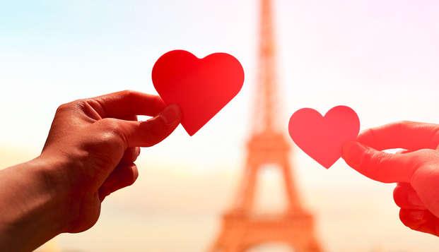 Romantisme, champagne et chocolats au pied de la Tour Eiffel !