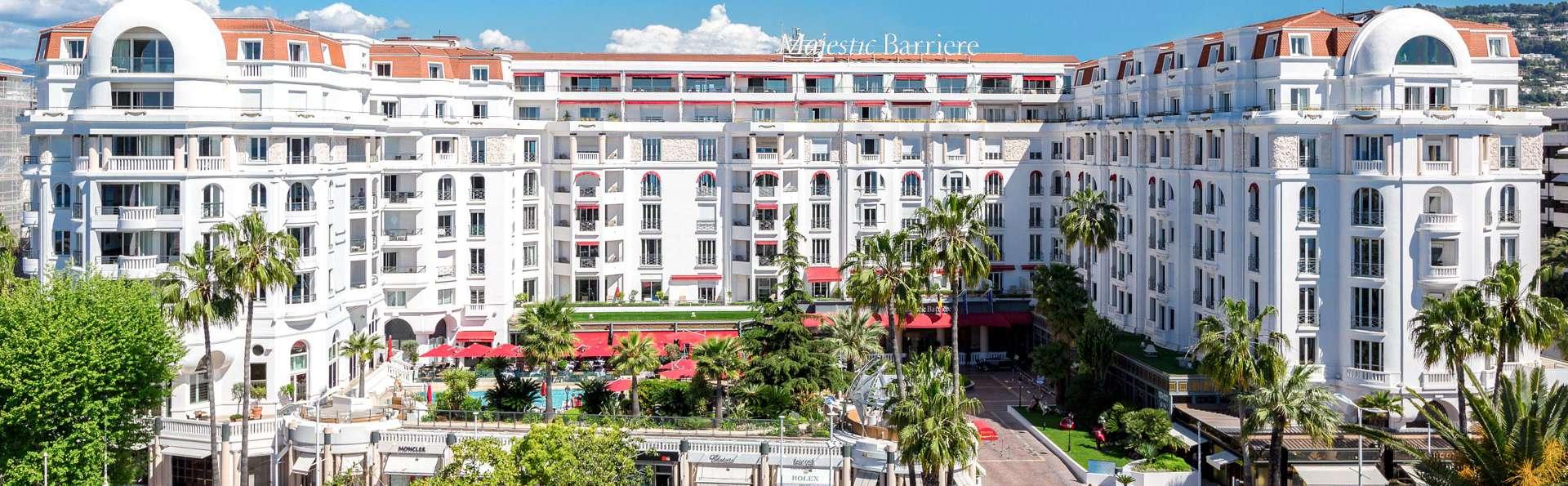 Détente dans le mythique hôtel Majestic Barrière de Cannes