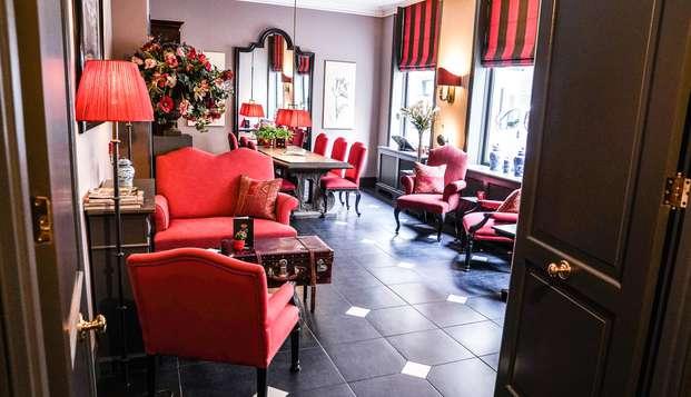 Alójate en un precioso hotel con encanto en el centro de La Haya