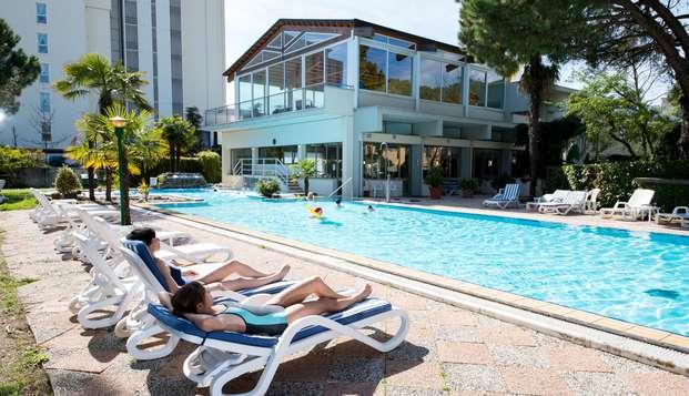 Soggiorno di benessere ad Abano Terme con accesso alla spa e pensione completa