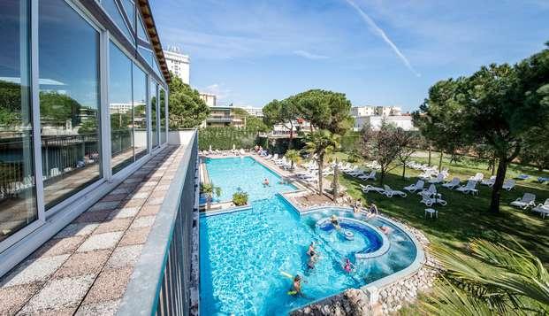 Weekend di relax e benessere ad Abano Terme con accesso alla Spa