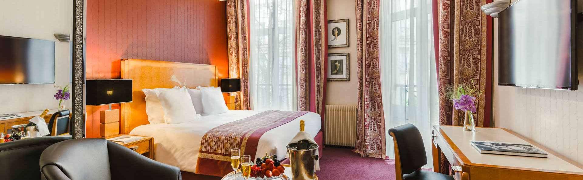Virée citadine et spa dans le Marais parisien