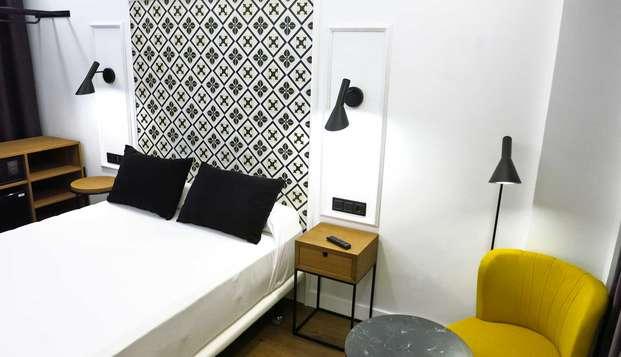 Escapada en Valladolid en hotel céntrico y en una habitación superior