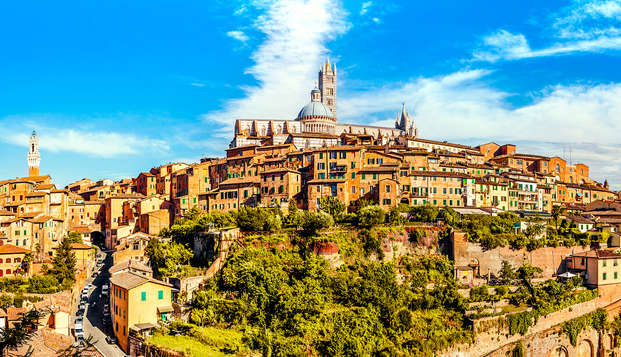 Recorre las calles históricas de Siena