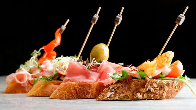 Descubre Tudela: cena de pintxos y visita a la bodega Marqués de Montecierzo