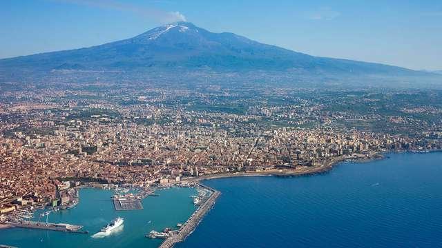 Escapada en Catania con visita al valle de los templos
