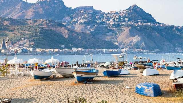 Soggiorno sul mare siculo ad un passo dai giardini di Naxos