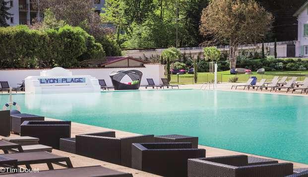 Hotel Lyon Metropole Spa - Piscine