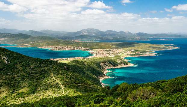 Brisa marina en la costa de Olbia