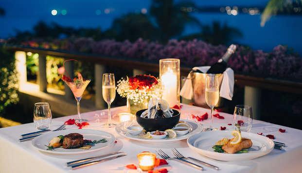 Fin de semana romántico con cena a la luz de las velas, cava y kit erótico en Zafra (desde 2 noches)