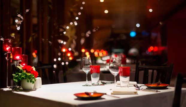 Fusion entre romance et gastronomie près de Gérone