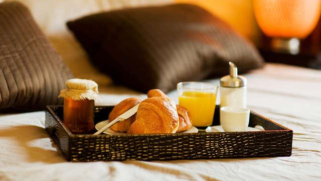 Desayuno posible en la habitación para 2 adultos