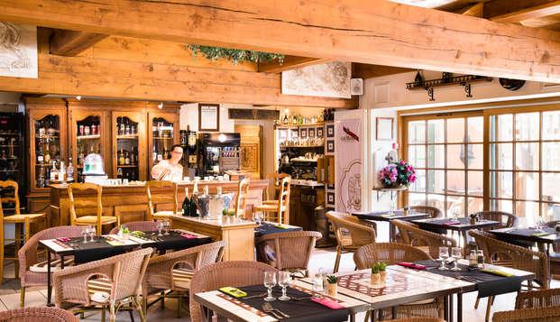 Week-end en amoureux avec dîner près de Deauville