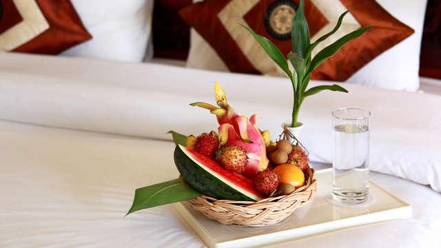 Eau et fruits