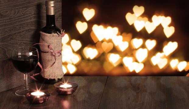 Saint-Valentin: romantisme et champagne dans un 4*