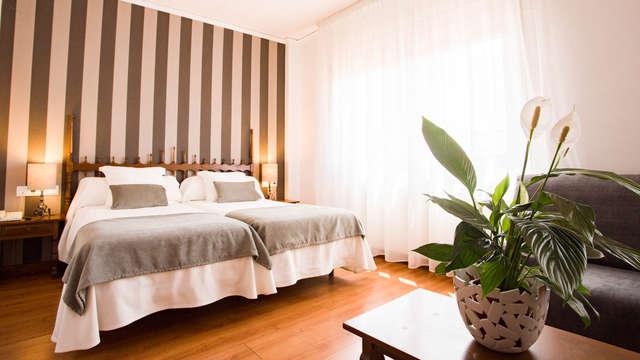 Hotel familiar con mucho encanto en el pirineo catalán en Tremp