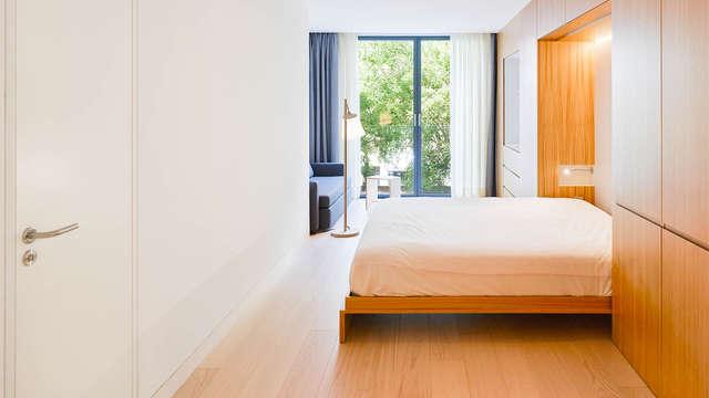 Speciaal voor familie of vrienden in het centrum van Madrid: appartementen met zwembad