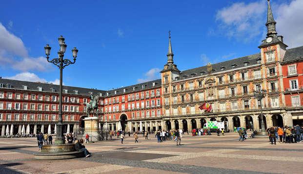 Escapada en pareja cena cena a elegir entre más de 200 restaurantes en Madrid