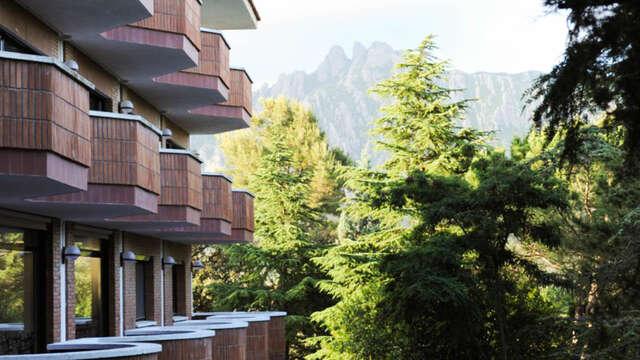 Evasión en la naturaleza del Parque Natural de Montserrat