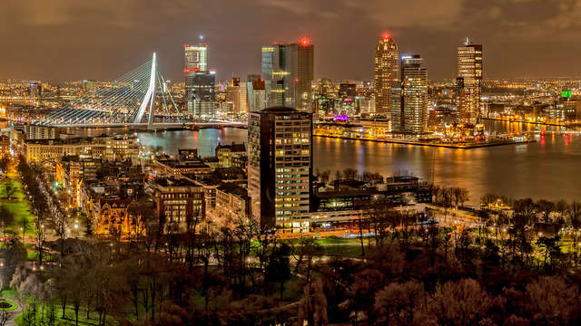 Op de fiets door het centrum van Rotterdam (vanaf 2 nachten)