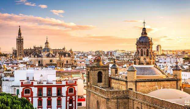 Escapada en un moderno estudio a un paso de Sevilla