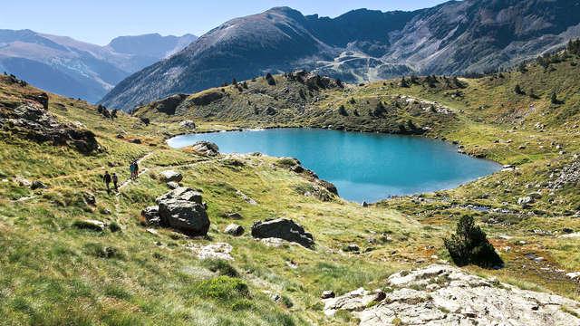 Mise au vert à L'Aldosa de Canillo en Andorra