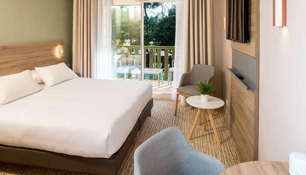 Escapade romantique et bien-être dans un hôtel **** près de l'Océan à Lacanau