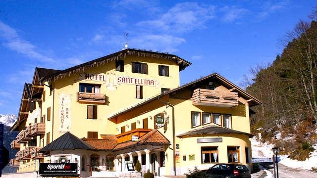 Rilassante pausa nel verde del Trentino in camera tripla