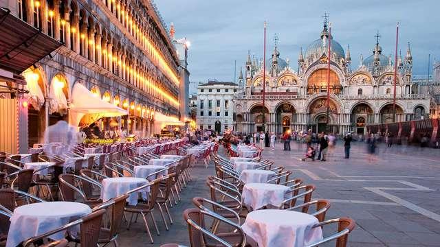 A las puertas de Venecia en un moderno hotel 4 * Superior