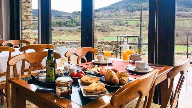 Escapada de montaña con desayuno en pleno parque natural
