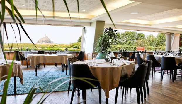 Week-end avec dîner face au Mont-Saint-Michel