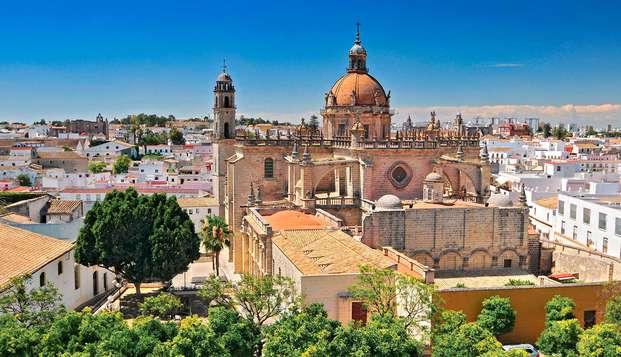 Escapada última hora con detalle de bienvenida a Jerez de la Frontera