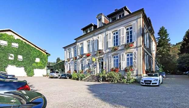 Séjour détente et dîner au cœur des Vosges