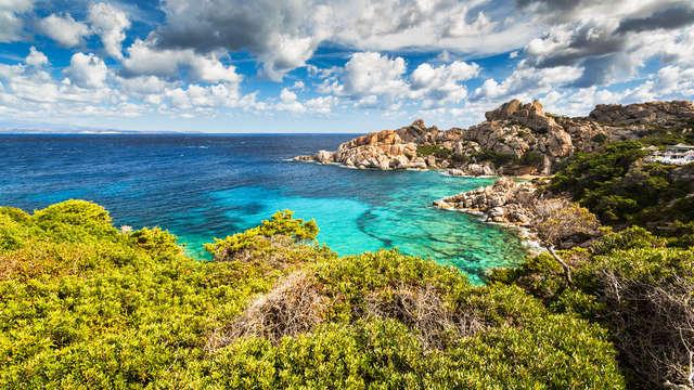 Oasis de paix sur la côte nord de la Sardaigne à Santa Teresa Gallura
