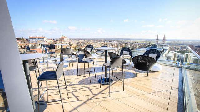 Architecture contemporaine et centenaire dans l'historique Mâcon