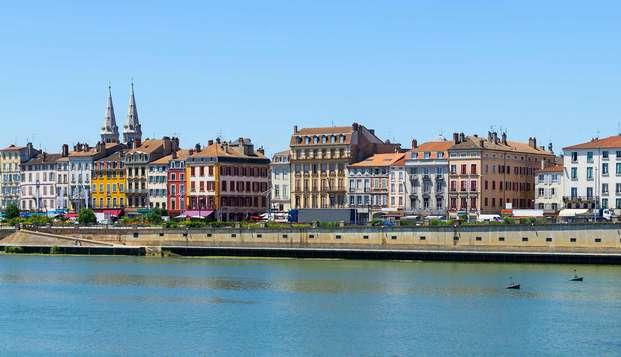 Architecture élégante sur les berges de la Saône