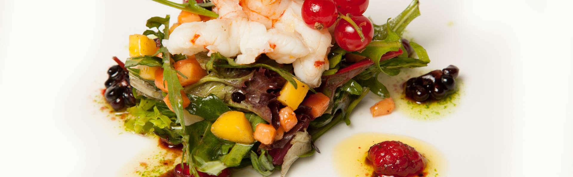 Escapade Gourmande : Menu gastronomique avec boissons incluses et spa dans la vallée de Camprodón