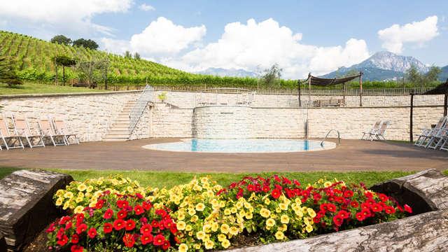 Soggiorno con accesso alla spa nei pressi del Lago di Garda in appartamento per 4 persone