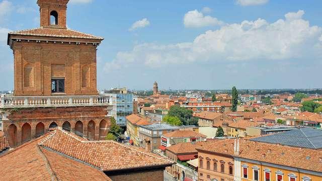Coccole di relax nel cuore storico di Ferrara, capolavoro dei duchi d'Este