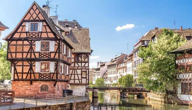 Flânez dans les ruelles historiques de Strasbourg