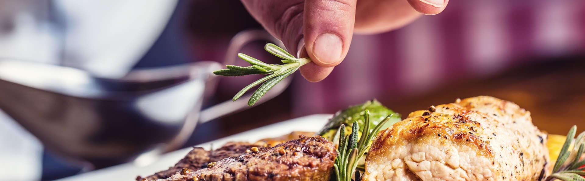 Saveurs de la Méditerranée : Faites une escapade à Paterna, avec dîner inclus et instant détente au spa