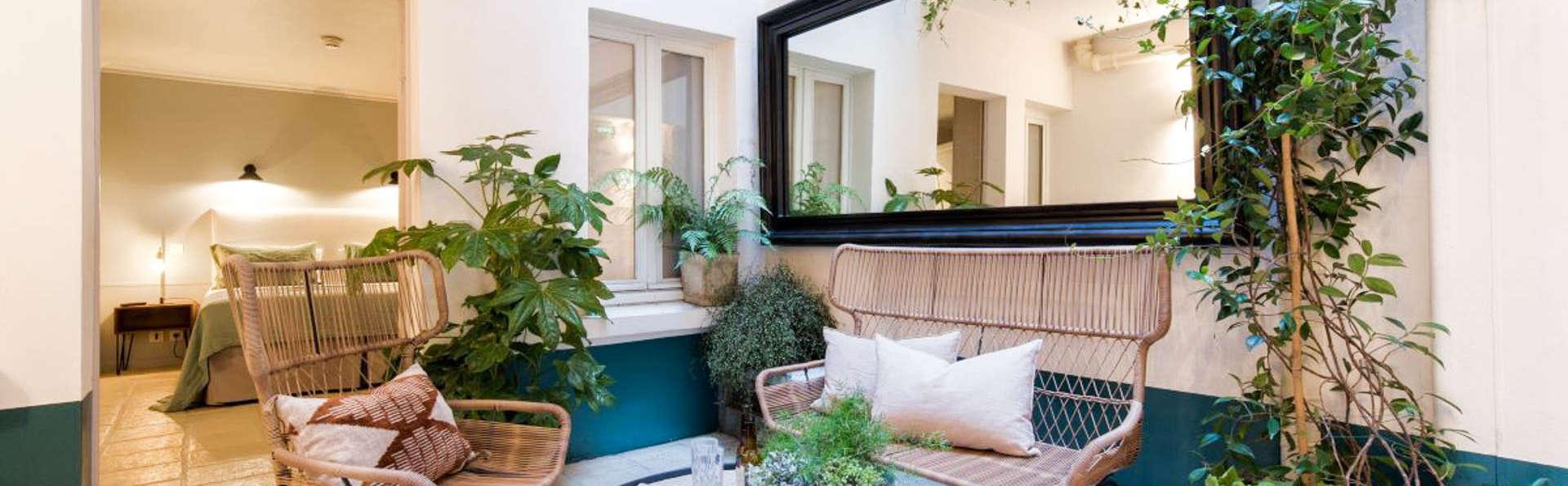 Posez vos valises dans un hôtel plein de charme au cœur du Marais