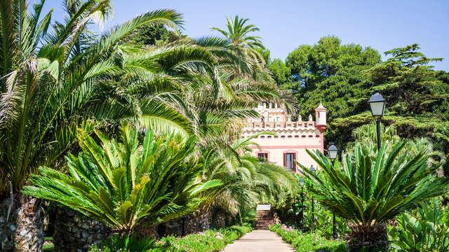 Escapada de lujo: Junior Suite con vistas al jardín inmerso en el Delta del Ebro