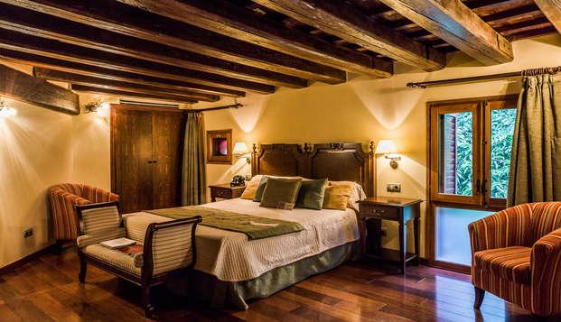 Especial relax en pareja en un hotel boutique 5* en Xerta con acceso privado spa
