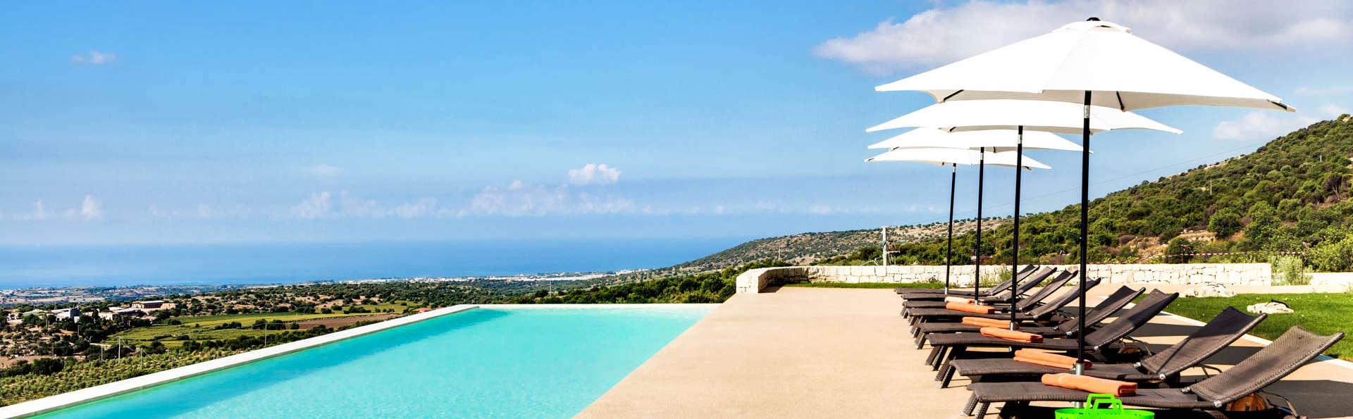 Une oasis de paix sur la côte aztèque à Ragusa avec surclassement en chambre supérieure et petit déj