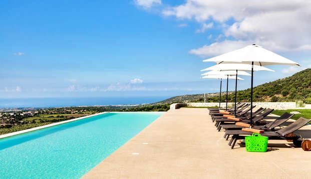 Un'oasi di pace sulla costa iblea a Ragusa con upgrade in superior e colazione in camera