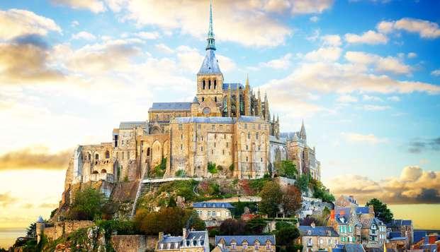 Cadre intime au pied de l'Abbaye du Mont Saint-Michel
