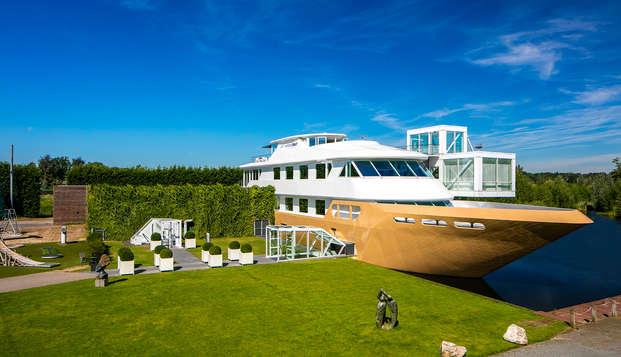 Comfort en gastvrijheid in Uden inclusief toegang tot de wellnessboot in Mill