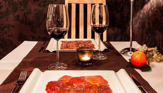Escapada con cena gourmet en un hotel rural ubicado en el Valle de Cabuérniga