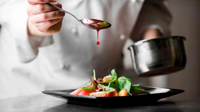 Séjour au vert avec dîner aux saveurs de saison dans la province du Luxembourg